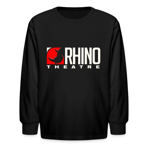 Rhino Theatre Men/Unisex Black Tee - Kids' Long Sleeve T-Shirt