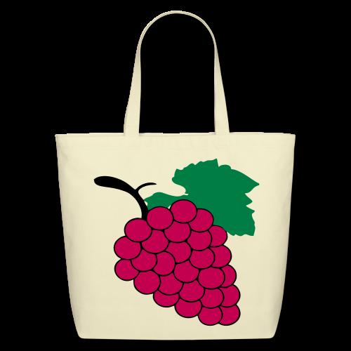 yummy grapes - Eco-Friendly Cotton Tote