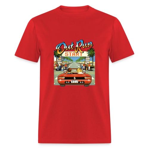 Out Run - Men's T-Shirt
