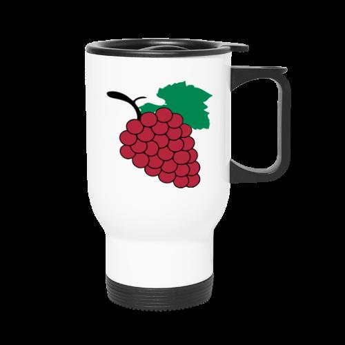 yummy grapes - Travel Mug