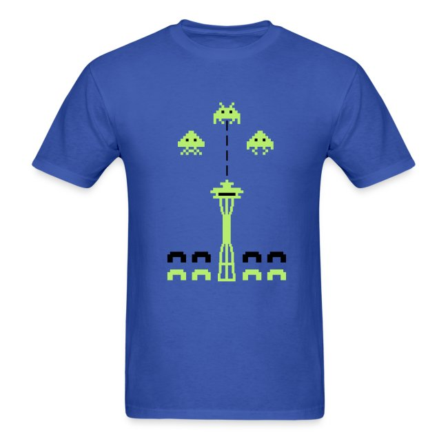 Space Needle Attack