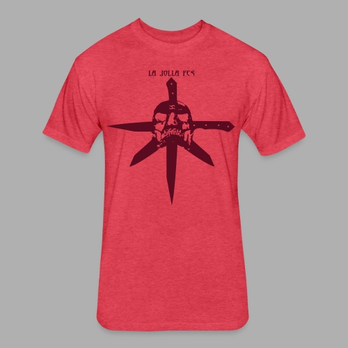 La Jolla FCS Berry - Fitted Cotton/Poly T-Shirt by Next Level