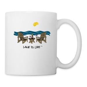 Adirondack Chairs - Coffee Mug - Coffee/Tea Mug