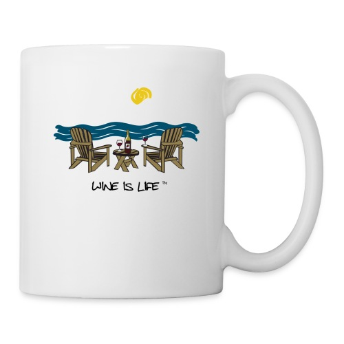 Adirondack Chairs - Coffee Mug - Coffee/Tea Mug