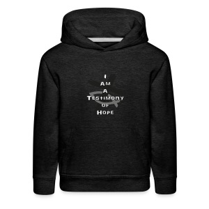 I am a Testimony of Hope - Kids' Premium Hoodie