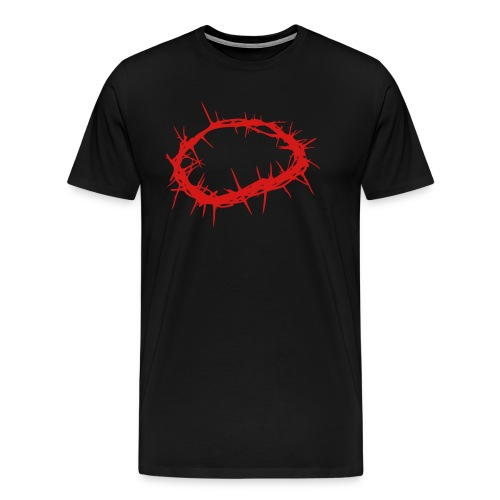 Crown of Thorns - Men's Premium T-Shirt
