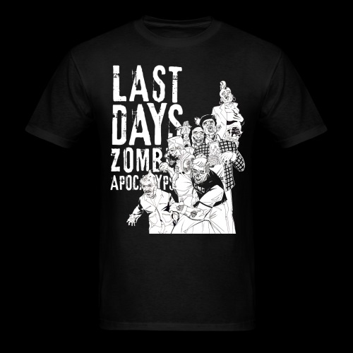 GMG Last Days Crew T  - Men's T-Shirt