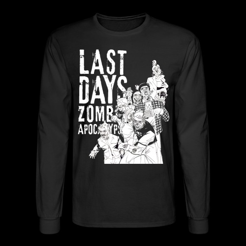GMG Last Days Crew Longsleeve - Men's Long Sleeve T-Shirt