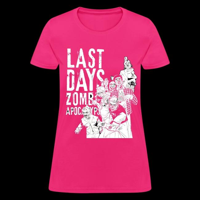 GMG Last Days Crew Women's T