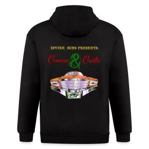 Conscious & Cadillac WBP mens hoodie - Men's Zip Hoodie