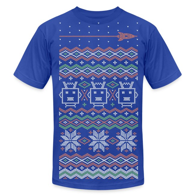 RocketFuel Holiday Men's T-Shirt by American Apparel