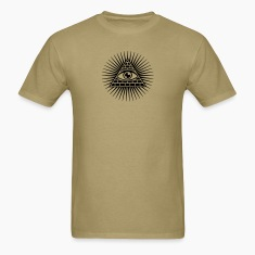 eye of providence, pyramid, all seeing eye, god T-Shirts