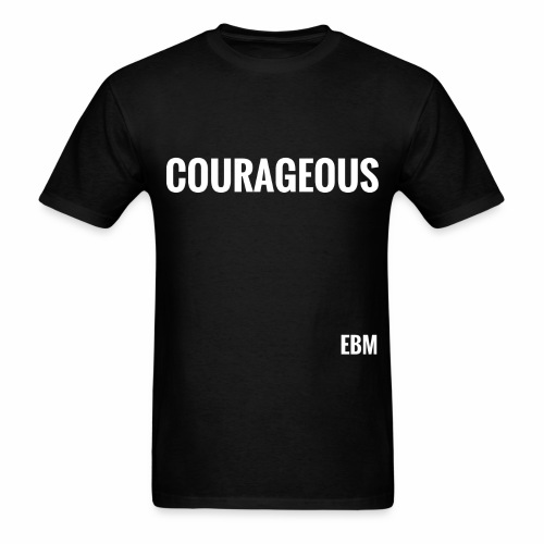 Courageous Black Males Black Men's T-shirt Clothing by Stephanie Lahart. - Men's T-Shirt