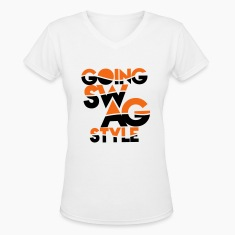 GOING SWAG STYLE two color Women's T-Shirts