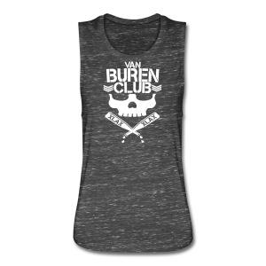 Women's Vintage Van Buren Club Cutoff Shirt - Women's Flowy Muscle Tank by Bella