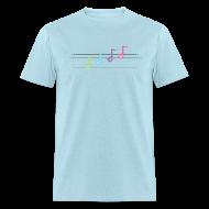 T-Shirts ~ Men's T-Shirt ~ Happy Note