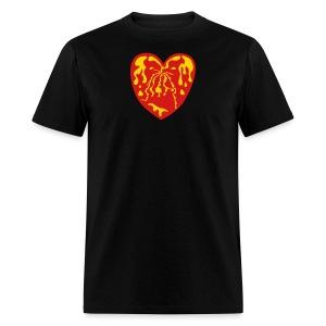 Throbbing Heart - Men's T-Shirt
