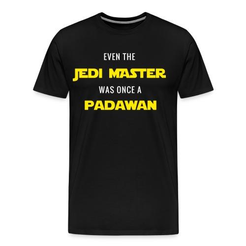 Jedi Master - Padawan - Men's Premium T-Shirt