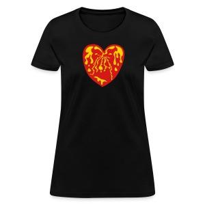 Throbbing Heart - Women's T-Shirt