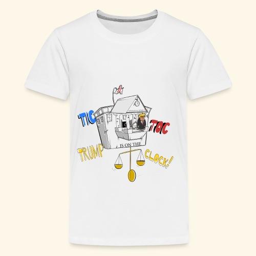 tictoc line - Kids' Premium T-Shirt