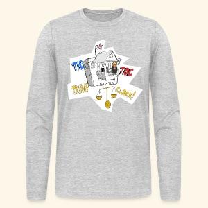 tictoc line - Men's Long Sleeve T-Shirt by Next Level