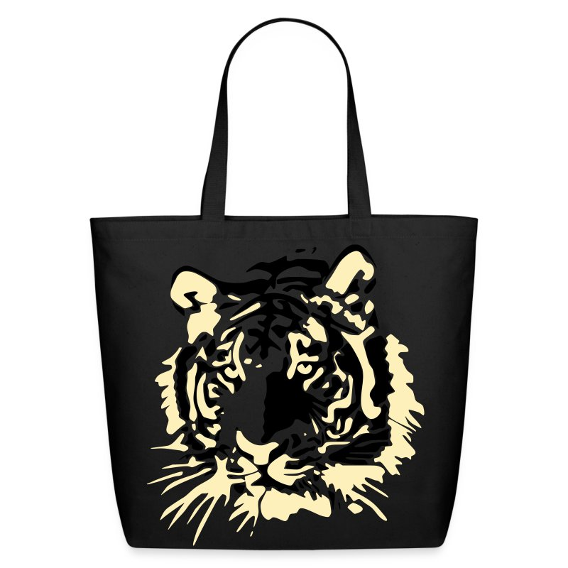 Tiger Head Eco-Bag - Eco-Friendly Cotton Tote