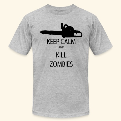 Keep Calm Zombies - Men's Fine Jersey T-Shirt