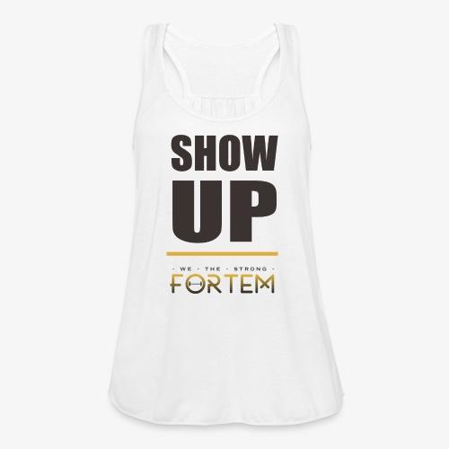 Show Up Tank - Women's Flowy Tank Top by Bella