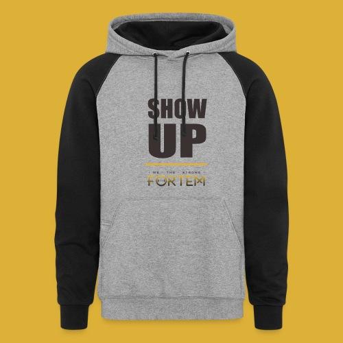 Show Up Hoodie - Colorblock Hoodie