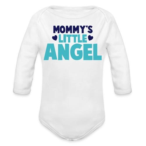 Mommy's Little Angel - Boys - Organic Long Sleeve Baby Bodysuit