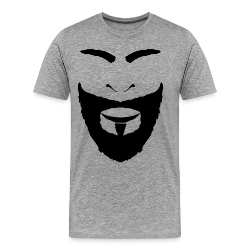 FACES_BEARD - Men's Premium T-Shirt
