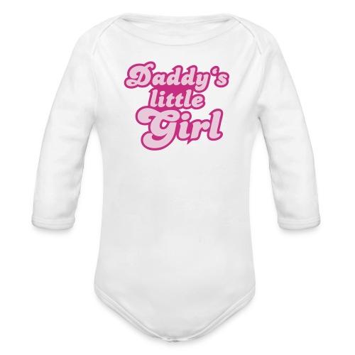 Daddy's Little Girl - Organic Long Sleeve Baby Bodysuit