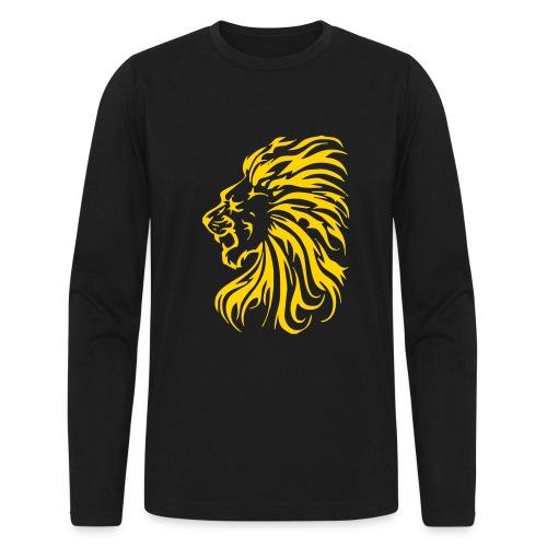 Tribal Lion - Men's Long Sleeve T-Shirt by Next Level