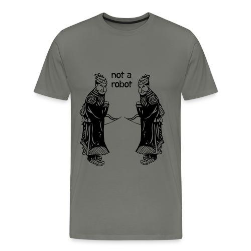 Not A Robot Ronin Archer - Men's Premium T-Shirt