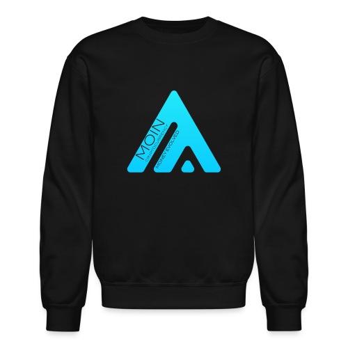 MOIN Man Black Sweatshirt - Crewneck Sweatshirt