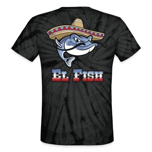 Team Fish Shirt - Unisex Tie Dye T-Shirt
