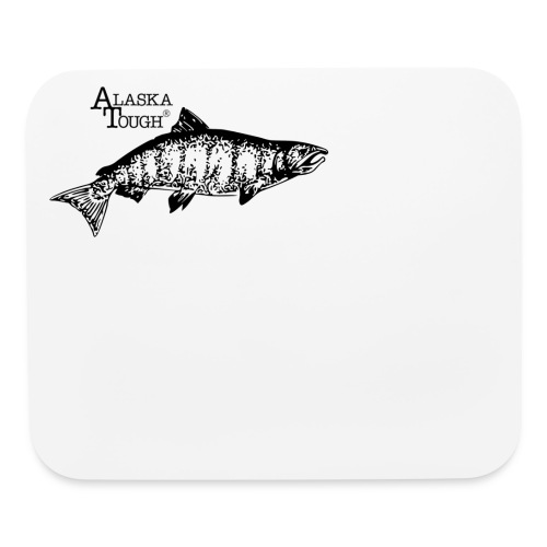Salmon Fishing Mouse Pad - Mouse pad Horizontal