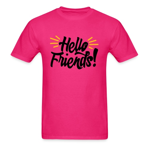 Hello Friends! Men's T-Shirt - Men's T-Shirt