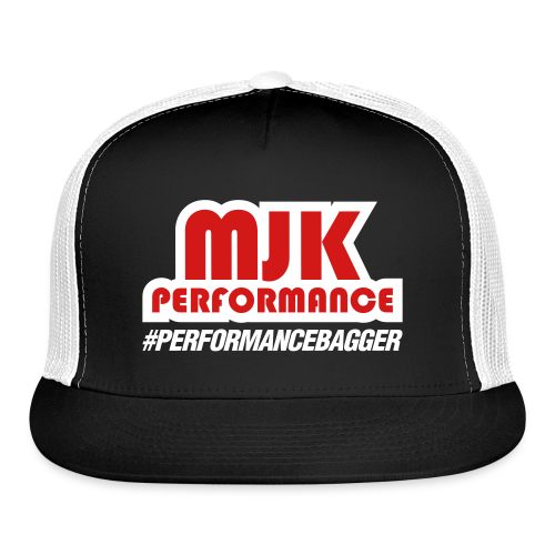 MJK Trucker Hat Red/White  - Trucker Cap