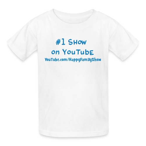 Kids #1 Show on YouTube Shirt - Kids' T-Shirt