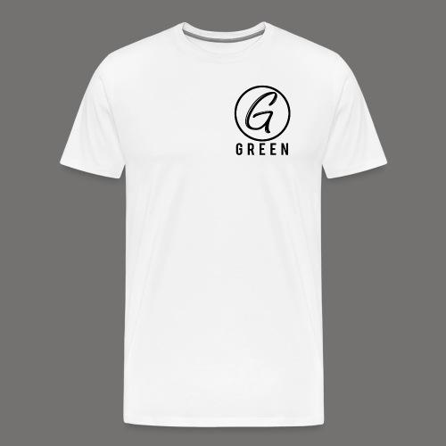 Greenish Circle G - Men's Premium T-Shirt