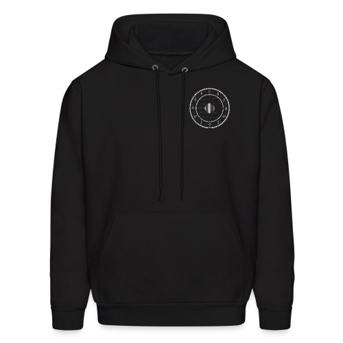 MOONS (black) - Men's Hoodie