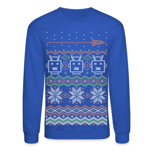 RocketFuel Holiday Men's Crewneck Sweatshirt - Crewneck Sweatshirt