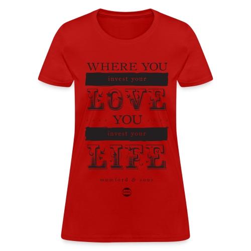 Women's Awake My Soul - Women's T-Shirt