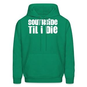 2-sided Southside Pride Dark Green Hoodie - Men's Hoodie