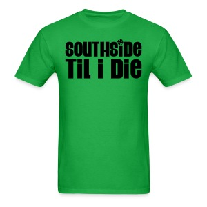 2-sided Southside Pride Green Tee - Men's T-Shirt