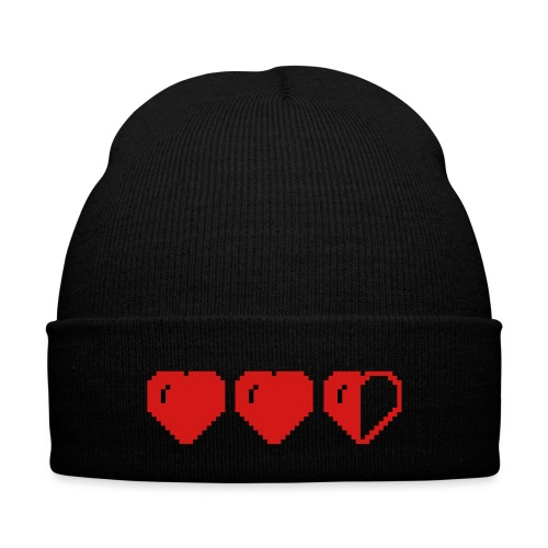 love son - Knit Cap with Cuff Print