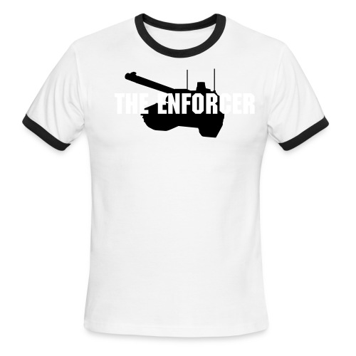 The Enforcer T-Shirt - Men's Ringer T-Shirt