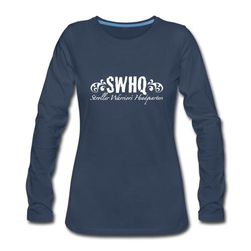 Spreadshirt Women's L/S Tee Tour Back - Women's Premium Long Sleeve T-Shirt