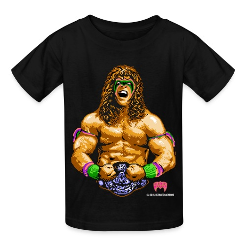 Ultimate Warrior 8-Bit Kids Shirt - Kids' T-Shirt